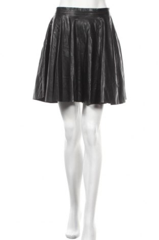 Δερμάτινη φούστα Club Monaco, Μέγεθος S, Χρώμα Μαύρο, Δερματίνη, Τιμή 22,86€