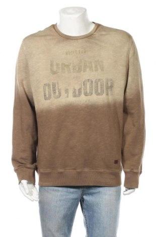 Ανδρική μπλούζα Camel Active, Μέγεθος XXL, Χρώμα  Μπέζ, Βαμβάκι, Τιμή 23,38€