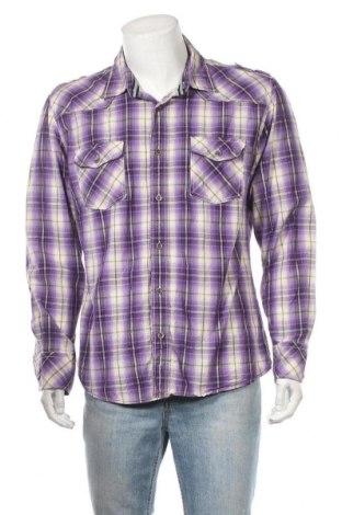 Ανδρικό πουκάμισο Soho, Μέγεθος XL, Χρώμα Πολύχρωμο, Βαμβάκι, Τιμή 6,62€