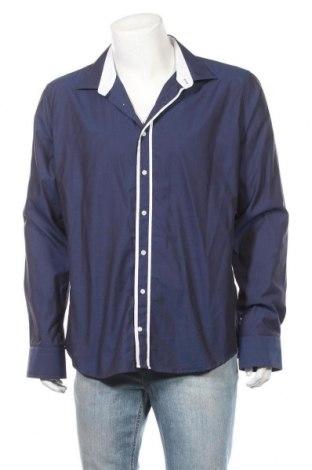Ανδρικό πουκάμισο Soho, Μέγεθος XXL, Χρώμα Μπλέ, Βαμβάκι, Τιμή 7,60€
