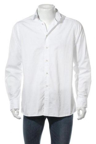 Мъжка риза Eterna, Размер S, Цвят Бял, Памук, Цена 11,84лв.