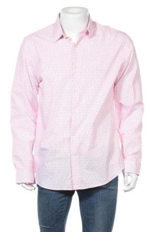 Ανδρικό πουκάμισο Express, Μέγεθος L, Χρώμα Ρόζ , Βαμβάκι, Τιμή 5,46€