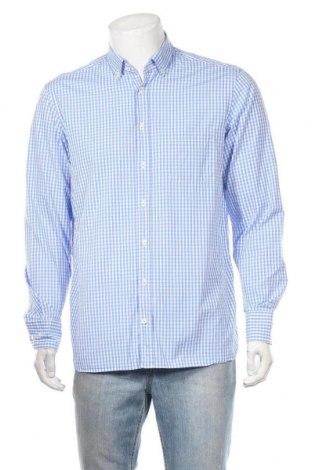 Ανδρικό πουκάμισο Van Laack, Μέγεθος L, Χρώμα Μπλέ, Βαμβάκι, Τιμή 15,46€