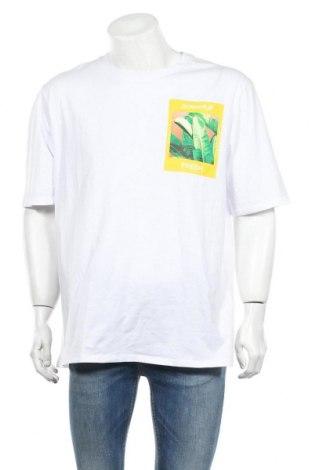Мъжка тениска Calliope, Размер XL, Цвят Бял, Памук, Цена 14,50лв.