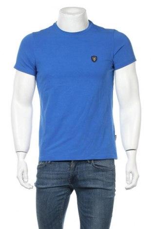 Ανδρικό t-shirt Galvanni, Μέγεθος S, Χρώμα Μπλέ, 92% βαμβάκι, 8% ελαστάνη, Τιμή 31,76€