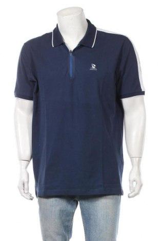 Мъжка тениска Giorgio Di Mare, Размер XXL, Цвят Син, 95% памук, 5% еластан, Цена 51,35лв.