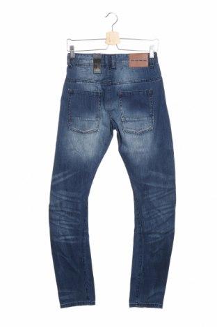 Мъжки дънки Outfitters Nation, Размер XS, Цвят Син, Памук, Цена 19,34лв.