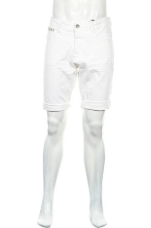 Ανδρικό κοντό παντελόνι Roadsign, Μέγεθος L, Χρώμα Λευκό, 98% βαμβάκι, 2% ελαστάνη, Τιμή 17,64€