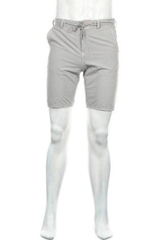 Мъжки къс панталон Springfield, Размер S, Цвят Сив, 100% памук, Цена 31,50лв.