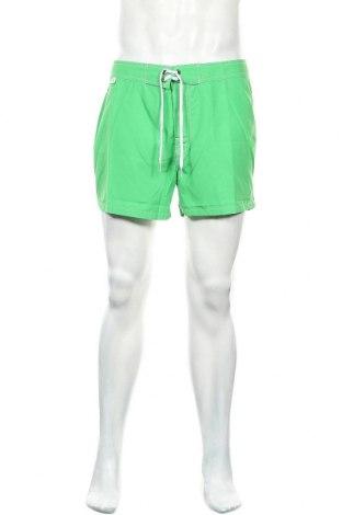 Pantaloni scurți de bărbați Sundek, Mărime M, Culoare Verde, 100% poliester, Preț 48,52 Lei