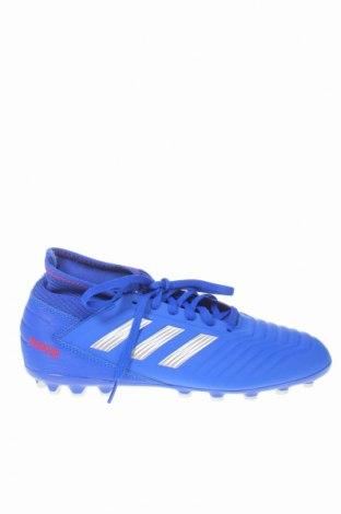 Детски обувки Adidas, Размер 38, Цвят Син, Еко кожа, Цена 69,02лв.
