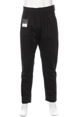Pánské kalhoty  Dondup, Velikost L, Barva Černá, Bavlna, Cena  668,00Kč