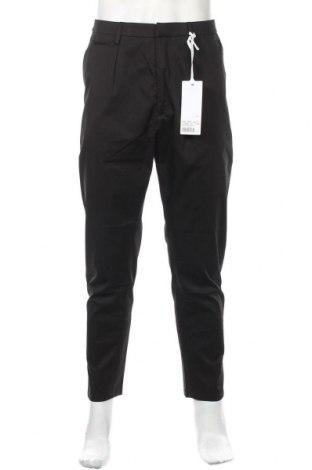 Ανδρικό παντελόνι Dondup, Μέγεθος M, Χρώμα Μαύρο, Βαμβάκι, Τιμή 51,63€