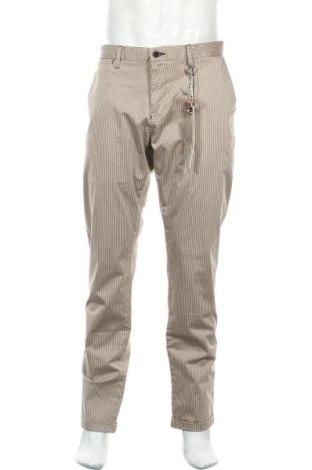 Ανδρικό παντελόνι Gaudi, Μέγεθος XL, Χρώμα  Μπέζ, 98% βαμβάκι, 2% ελαστάνη, Τιμή 49,87€