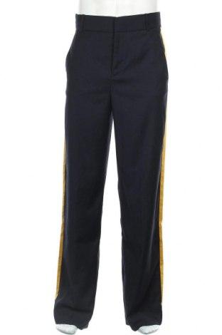 Pánské kalhoty  Mango, Velikost S, Barva Modrá, 68% polyester, 30% viskóza, 2% elastan, Cena  477,00Kč
