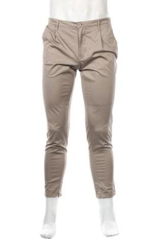 Ανδρικό παντελόνι Only & Sons, Μέγεθος M, Χρώμα  Μπέζ, 97% βαμβάκι, 3% ελαστάνη, Τιμή 3,45€