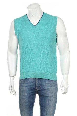 Ανδρικό πουλόβερ Brooks Brothers, Μέγεθος M, Χρώμα Πράσινο, Μερινό, μαλλί, Τιμή 16,10€