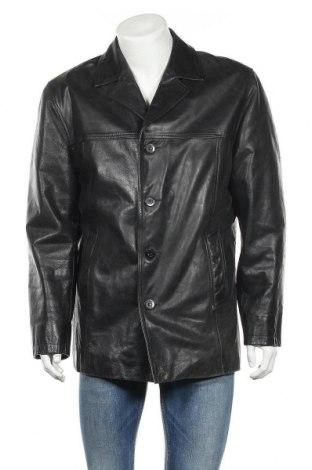 Ανδρικό δερμάτινο μπουφάν Mauritius, Μέγεθος XL, Χρώμα Μαύρο, Γνήσιο δέρμα, Τιμή 50,92€