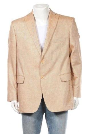 Ανδρικό σακάκι Guy Laroche, Μέγεθος XL, Χρώμα  Μπέζ, Μετάξι, Τιμή 47,93€