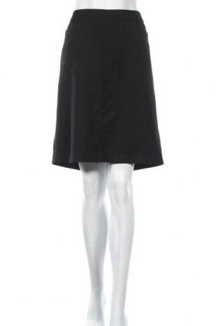 Φούστα Filippa K, Μέγεθος L, Χρώμα Μαύρο, 98% μαλλί, 2% ελαστάνη, Τιμή 23,39€