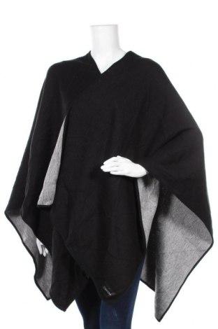 Пончо Calvin Klein, Размер M, Цвят Черен, Акрил, Цена 96,60лв.