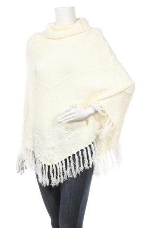 Πόντσο Charlotte Russe, Μέγεθος M, Χρώμα Λευκό, Ακρυλικό, Τιμή 20,26€
