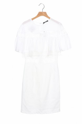 Φόρεμα Denny Rose, Μέγεθος XS, Χρώμα Λευκό, Πολυεστέρας, Τιμή 46,17€