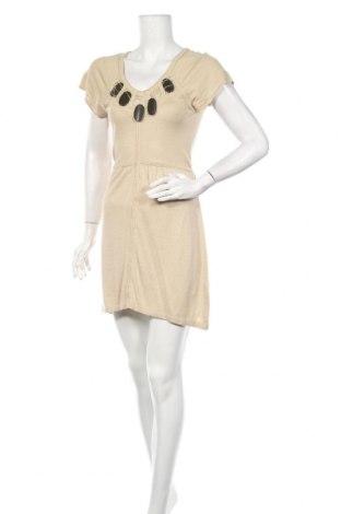 Φόρεμα Laurel, Μέγεθος XS, Χρώμα  Μπέζ, 30% μετάξι, 30% λινό, 20% βαμβάκι, 20% βισκόζη, Τιμή 21,82€