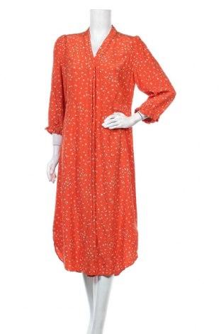 Φόρεμα Noa Noa, Μέγεθος M, Χρώμα Πορτοκαλί, Βισκόζη, Τιμή 26,30€