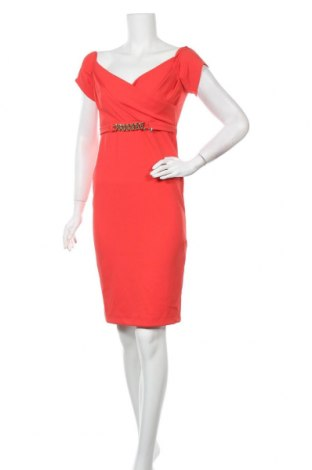 Рокля Rinascimento, Размер S, Цвят Червен, 90% полиестер, 10% еластан, Цена 42,57лв.