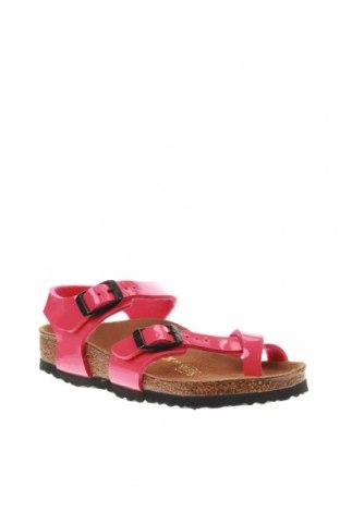 Σανδάλια Birkenstock, Μέγεθος 27, Χρώμα Ρόζ , Δερματίνη, Τιμή 25,52€