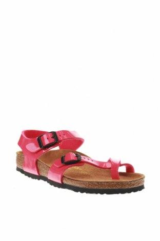 Σανδάλια Birkenstock, Μέγεθος 32, Χρώμα Ρόζ , Δερματίνη, Τιμή 25,52€