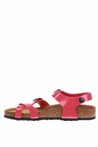 Σανδάλια Birkenstock, Μέγεθος 33, Χρώμα Ρόζ , Δερματίνη, Τιμή 25,52€