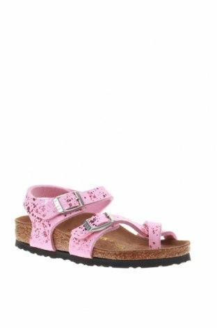 Σανδάλια Birkenstock, Μέγεθος 26, Χρώμα Ρόζ , Δερματίνη, Τιμή 30,54€