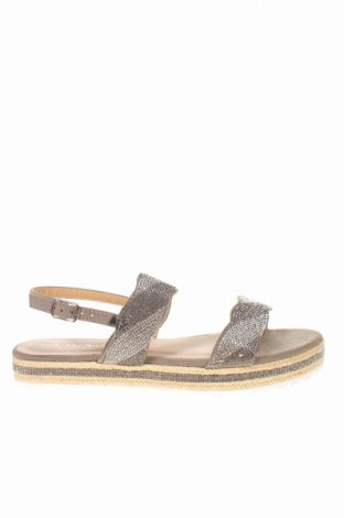 Sandale CAFèNOIR, Mărime 39, Culoare Gri, Textil, Preț 128,94 Lei