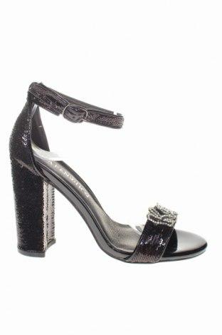 Sandale CAFèNOIR, Mărime 36, Culoare Negru, Textil, Preț 131,64 Lei