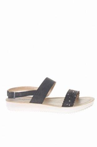 Σανδάλια Inblu, Μέγεθος 38, Χρώμα Μαύρο, Δερματίνη, Τιμή 26,68€