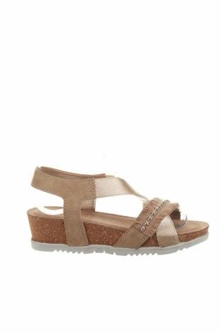 Sandale Inblu, Mărime 36, Culoare Bej, Piele ecologică, Preț 108,95 Lei