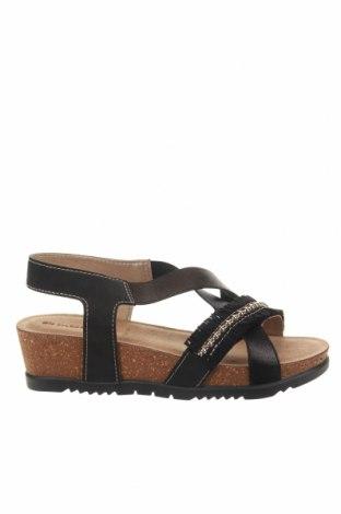 Sandale Inblu, Mărime 39, Culoare Negru, Piele ecologică, Preț 102,14 Lei