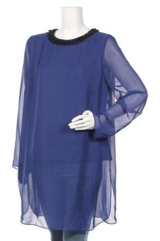 Τουνίκ Vera Mont, Μέγεθος XL, Χρώμα Μπλέ, Πολυεστέρας, Τιμή 18,45€