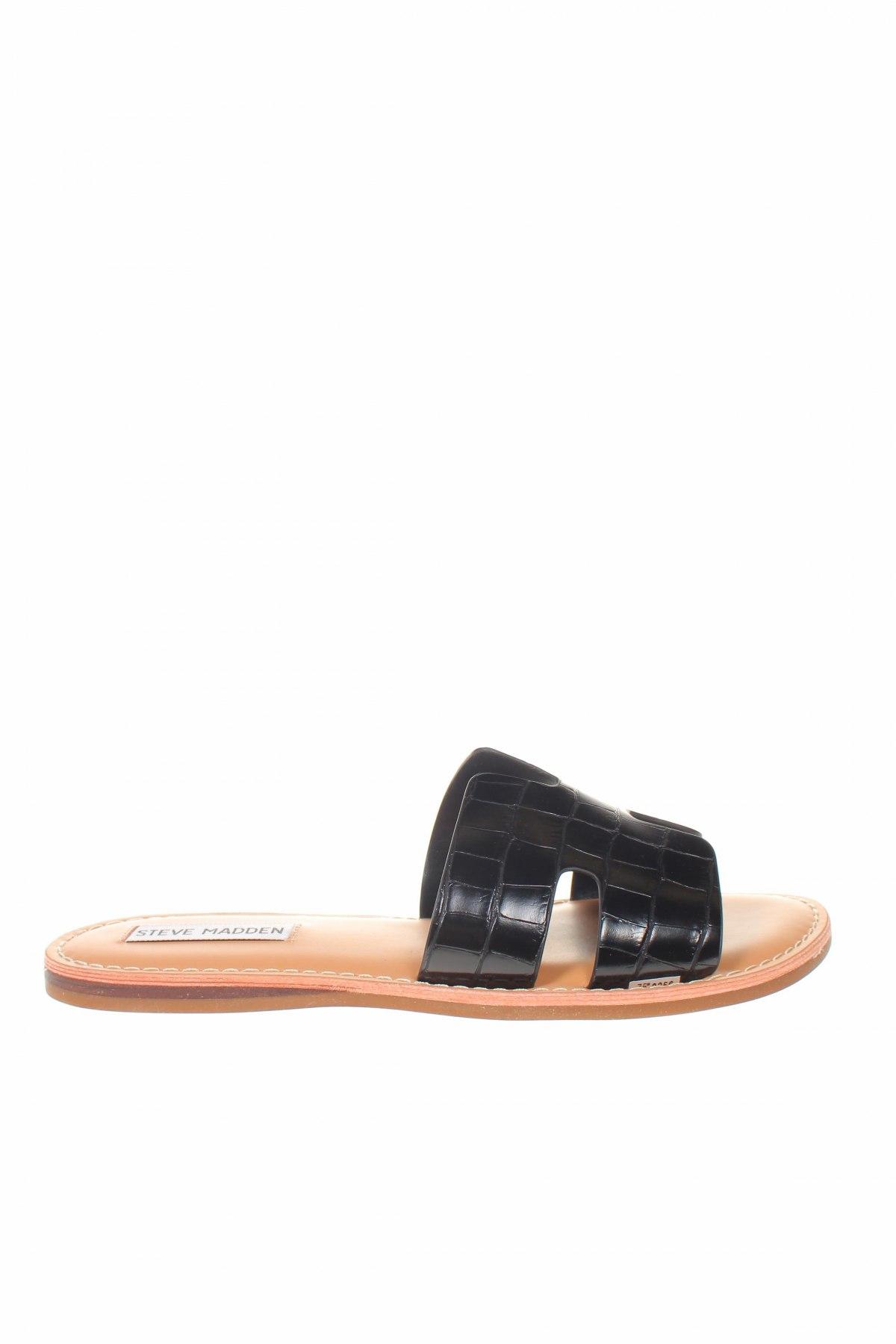 Γυναικείες παντόφλες Steve Madden, Μέγεθος 38, Χρώμα Μαύρο, Δερματίνη, Τιμή 36,88€