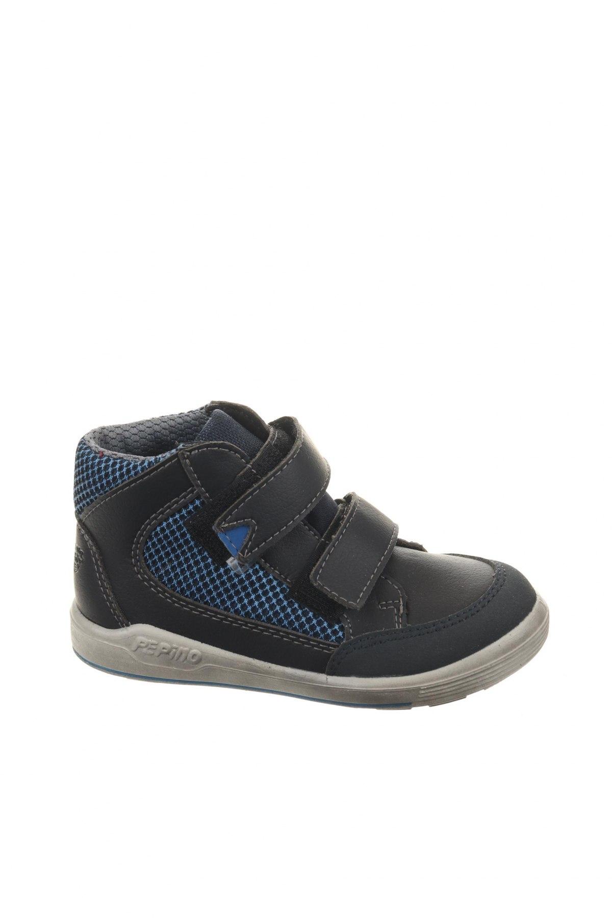 Παιδικά παπούτσια Pepino, Μέγεθος 24, Χρώμα Μπλέ, Δερματίνη, κλωστοϋφαντουργικά προϊόντα, Τιμή 22,81€