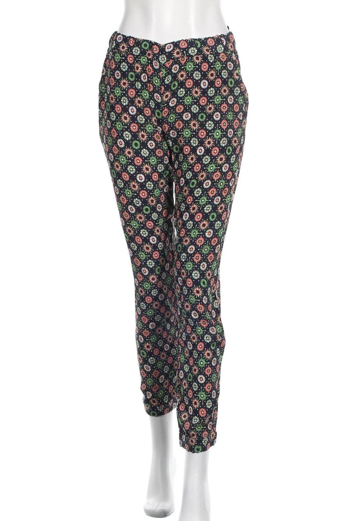 Дамски панталон French Connection, Размер S, Цвят Многоцветен, Вискоза, Цена 23,22лв.