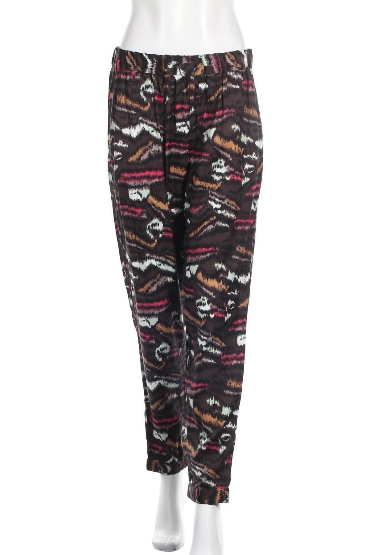 Дамски панталон French Connection, Размер M, Цвят Многоцветен, Вискоза, Цена 38,70лв.
