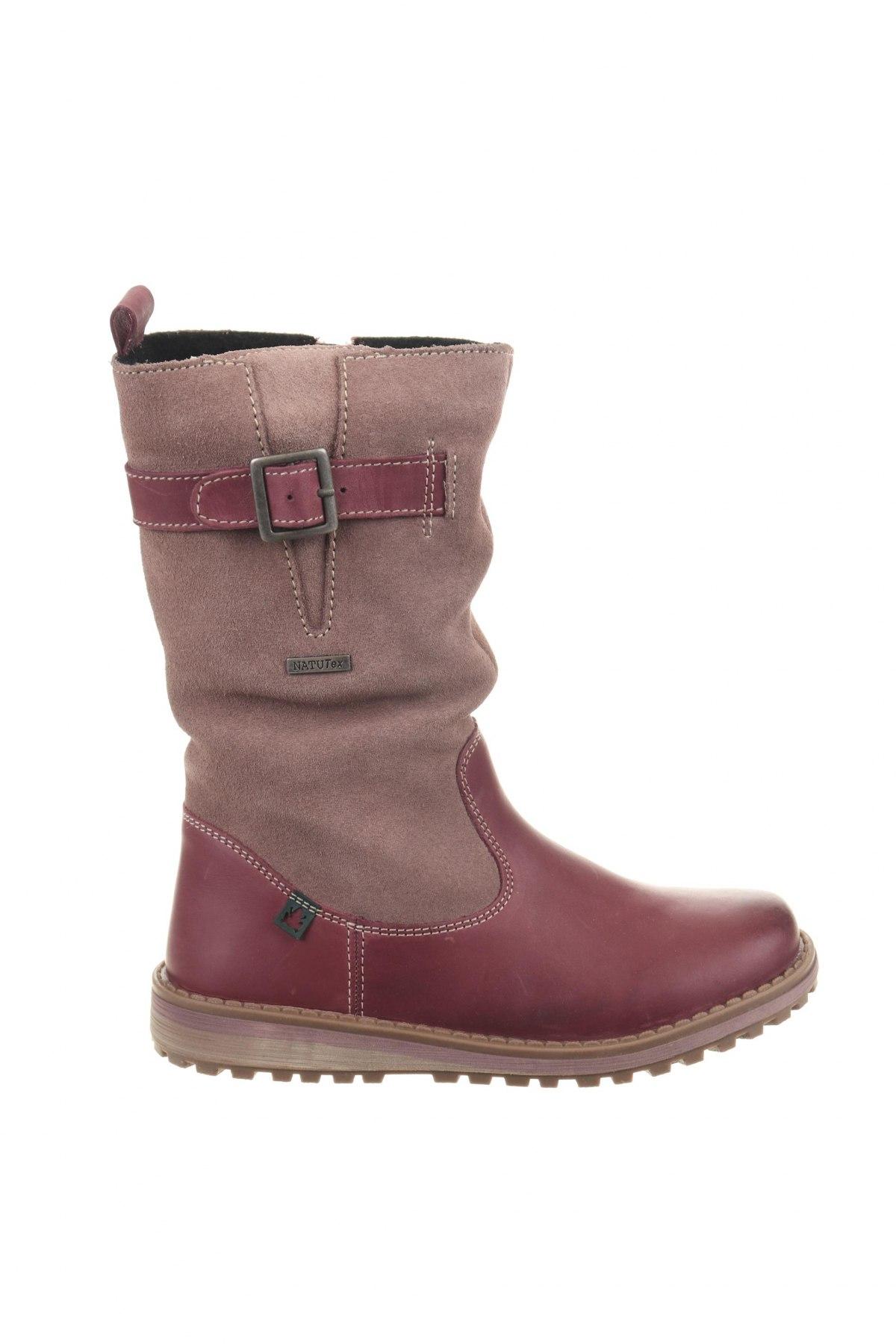 Παιδικά παπούτσια El Naturalista, Μέγεθος 32, Χρώμα Βιολετί, Γνήσιο δέρμα, φυσικό σουέτ, Τιμή 41,56€