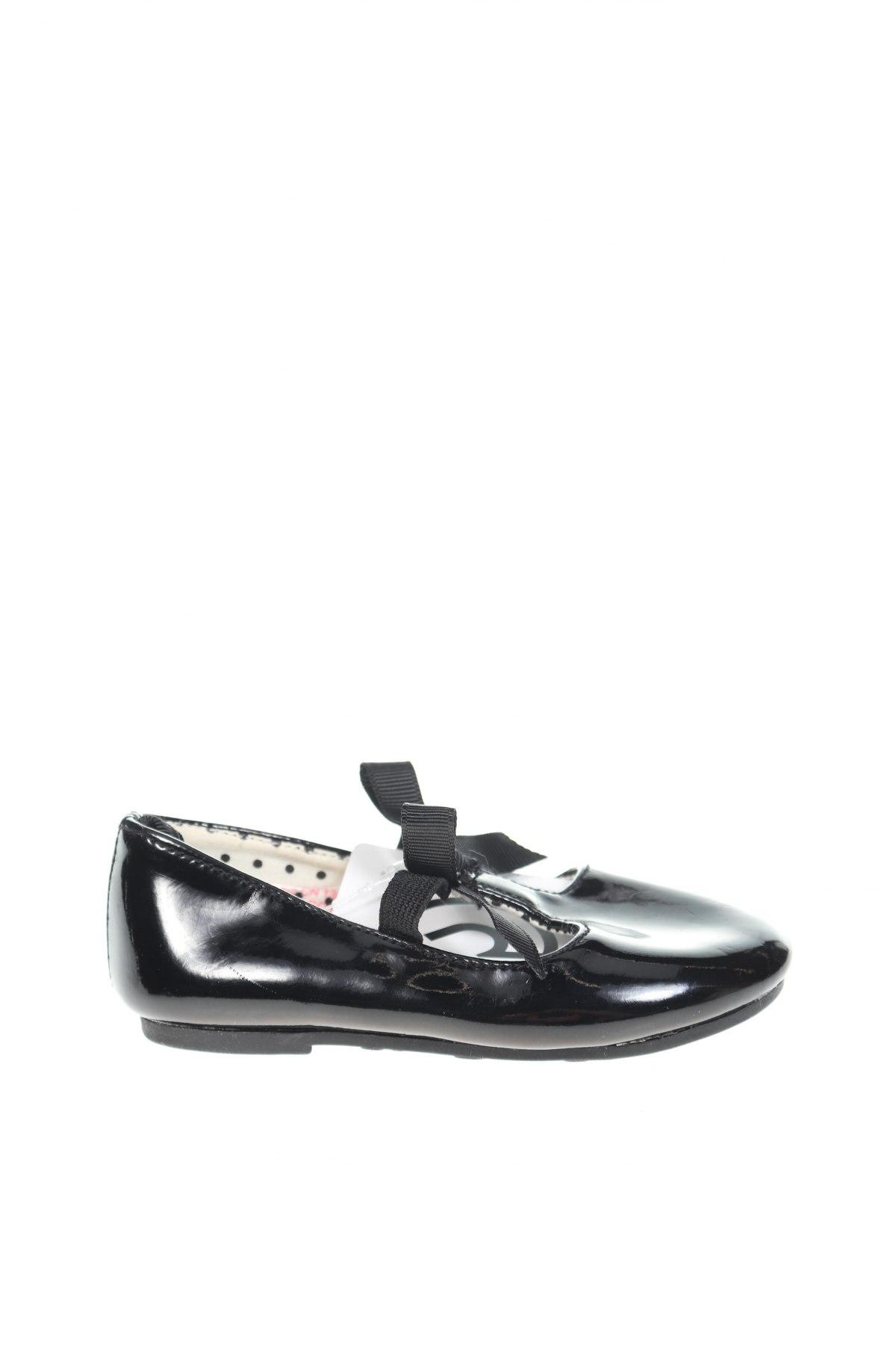 Παιδικά παπούτσια H&M, Μέγεθος 20, Χρώμα Μαύρο, Δερματίνη, Τιμή 8,85€