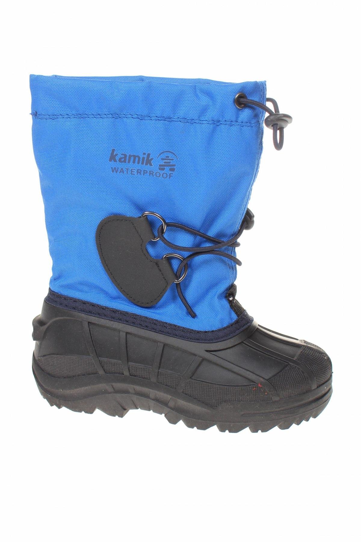 Παιδικά παπούτσια Kamik, Μέγεθος 30, Χρώμα Μπλέ, Κλωστοϋφαντουργικά προϊόντα, πολυουρεθάνης, Τιμή 22,40€