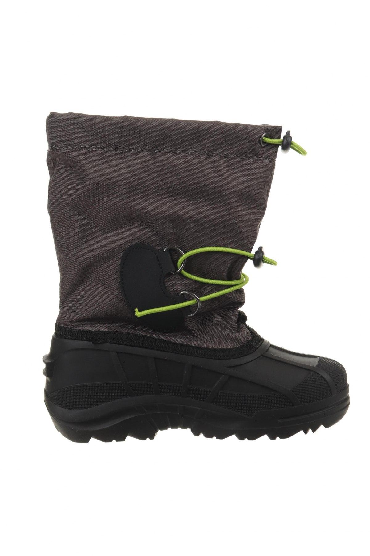 Παιδικά παπούτσια Kamik, Μέγεθος 33, Χρώμα Γκρί, Κλωστοϋφαντουργικά προϊόντα, πολυουρεθάνης, Τιμή 37,11€