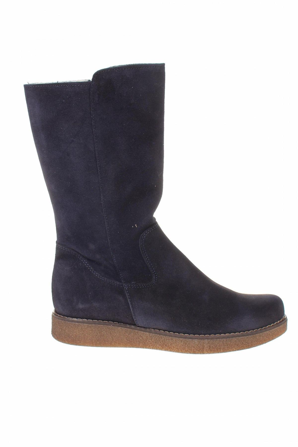 Παιδικά παπούτσια Kmins, Μέγεθος 38, Χρώμα Μπλέ, Φυσικό σουέτ, Τιμή 61,37€