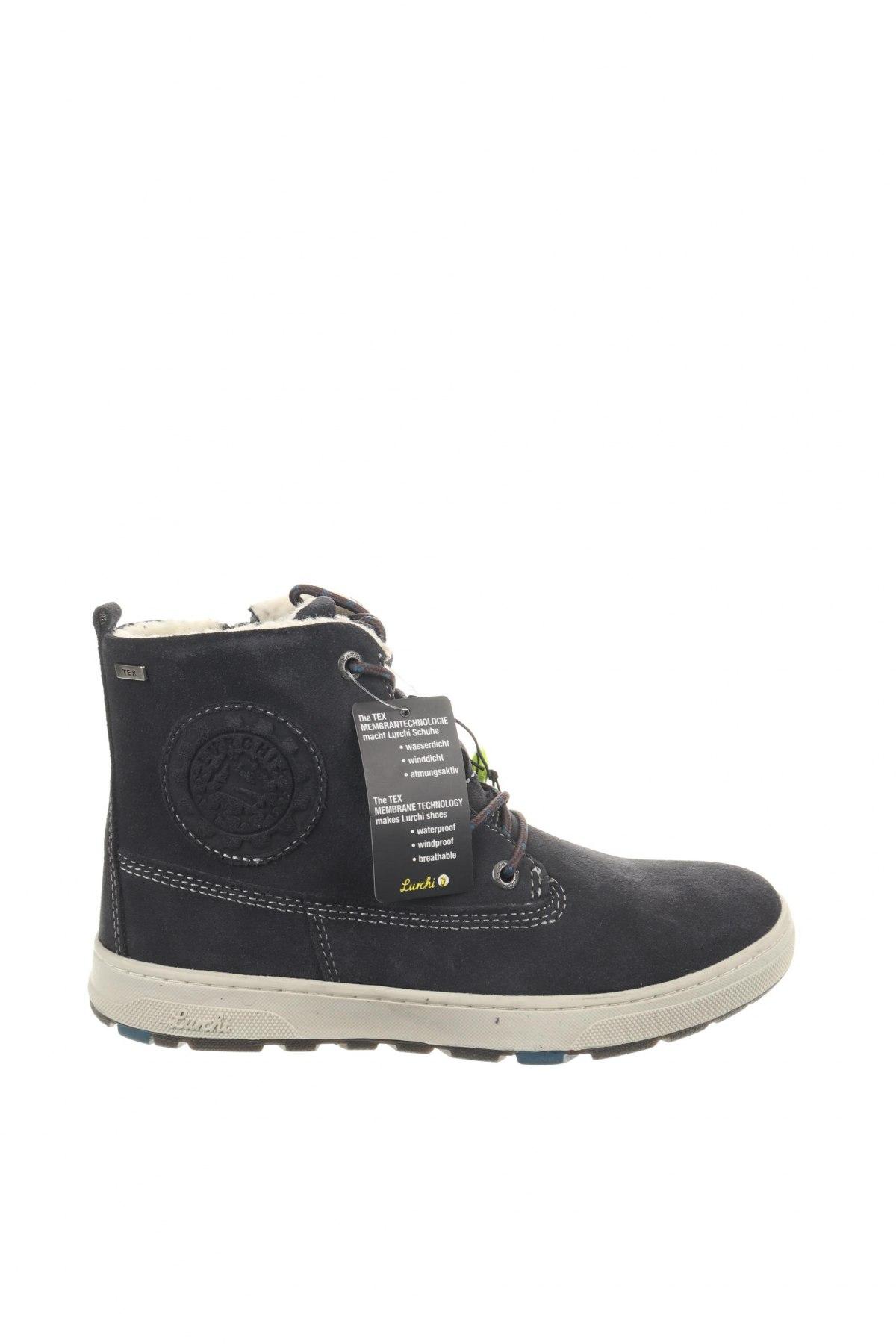 Παιδικά παπούτσια Lurchi, Μέγεθος 34, Χρώμα Γκρί, Φυσικό σουέτ, Τιμή 46,01€